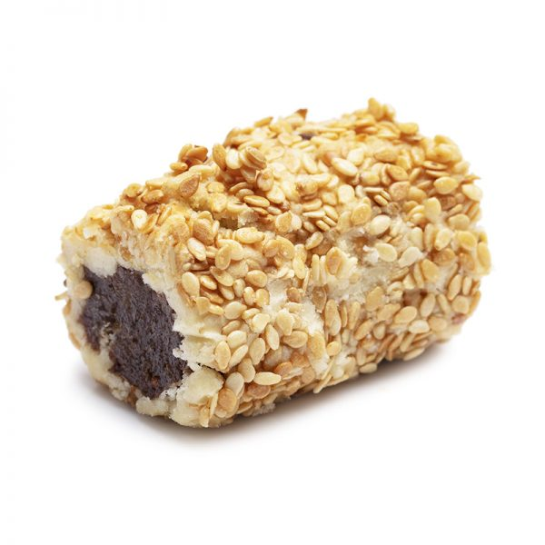 Ghuraiba Dates Roll with Sesame