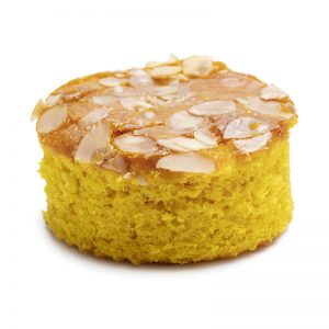 Sofouf Topped with Almond